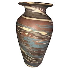Niloak Mission Swirl Art Pottery Vase-First Art Mark