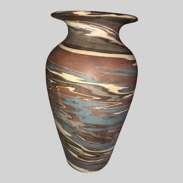 Niloak Mission Swirl Art Pottery Vase-First Art Mark
