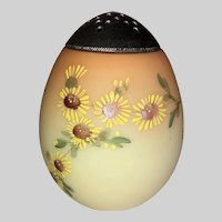 Mount Washington Egg Shape Sugar Shaker-Daisies