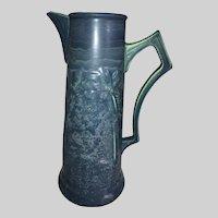 Hampshire Pottery Stylized Tankard Pitcher