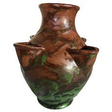 Weller Pottery Greora Strawberry Pot-1930's