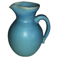Van Briggle Pottery Original Blue Pitcher-Wills