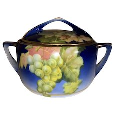 Rosenthal China Cracker Jar-Grapevines