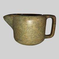 Shawsheen Art Pottery Creamer-Mason City