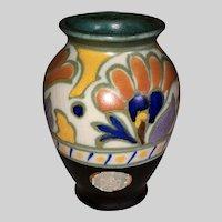 Gouda PZH Royal Zuid Metz Pottery Vase