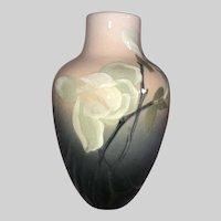 Rookwood Pottery Vase-Lenora Asbury-Iris Glaze-1907