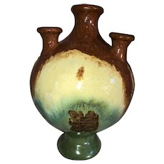 Fulper Pottery Flag Vase-Pan American International Exposition 1915