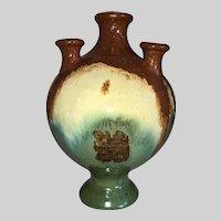 Fulper Pottery Flag Vase-Pan American International Exposition 1915