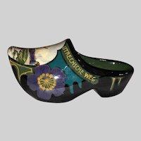 Gouda Ivora Pottery Shoe Figurine