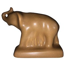 Van Briggle Elephant Figurine