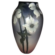 Rookwood Pottery Vase-Sara Sax-1914 Vellum