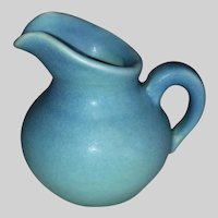 Van Briggle Pottery Miniature Ewer-Blue-Wills