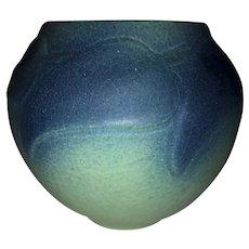Van Briggle Pottery Bowl-Leaves