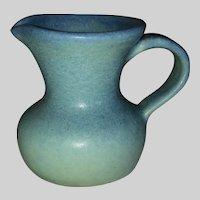 Van Briggle Pottery Miniature Ewer-Blue