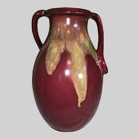 Weller Pottery Turkis Handled Floor Vase-1930