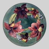 Huge Moorcroft Charger-Plate-Bearded Iris