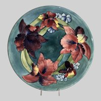 Huge Moorcroft Charger-Plate-Bearded Iris