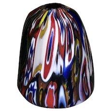 Italian Art Glass Millefiori Thimble