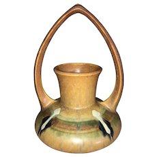 Roseville Pottery Monticello Basket #332-6 c1931