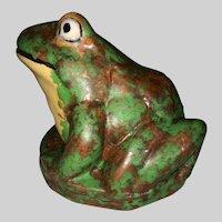 Weller Coppertone Fountain Frog Figure