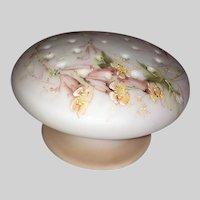 Mount Washington Crown Milano Mushroom Flower Arranger-Toothpick Holder