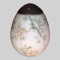Mount Washington Egg Shape Sugar Shaker-Cherry Blossoms