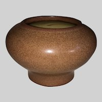Marblehead Pottery Brown Glaze Cabinet Vase
