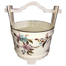 Powell and Bishop Porcelain Basket-Aesthetic Style