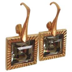 Designer gold plated earrings