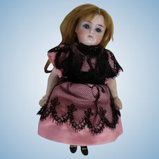 Small Bisque Composition Body Doll Sleep Eyes Swivel Head