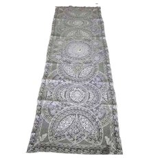"French Normandy Lace Runner, Scarf, or Panel 17"" x 51"""