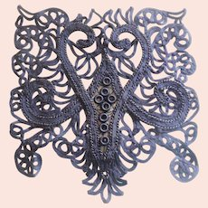 Victorian Lace Dress Medallions