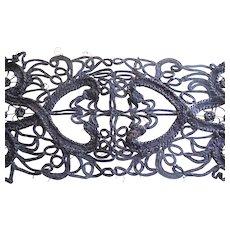 Victorian Black Lace Ribbon