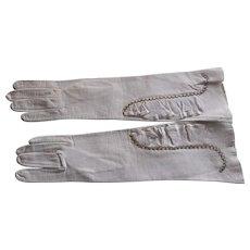 Vintage 1930-1940's Leather Gloves