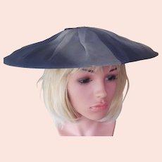 Vintage 1950's Sophisticated Portrait Hat