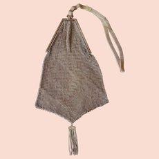 1920 Vintage Cathedral Gold Maille Handbag