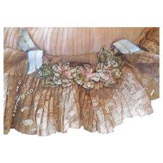 Antique 1900's Lace Boudoir Pillow
