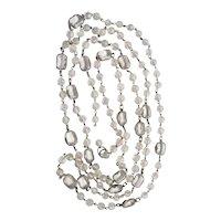 1920's Art Deco Crystal Necklace