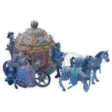 Enchanting Fitz and Floyd Rare Cinderella Cookie Jar