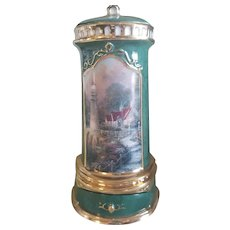 Vintage Kinkade Porcelain Music Box