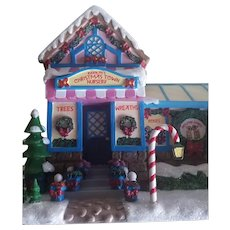 Vintage Rudolph's Christmas Lighted Houses - Nursery