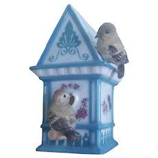 Vintage Bird House Spring Ornaments