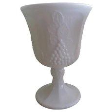 Vintage Indiana Milk Glass Goblets
