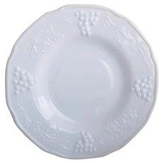 Vintage Indiana Milk Glass Dinner Plates