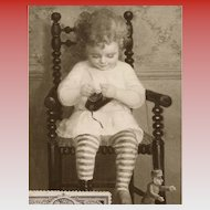 Girl with Shoe Salon de Paris Suzanne Daynes-Grassot-Solin Rare French Art Postcard with 1924 Olympiad Stamp