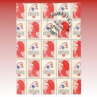 LAST CHANCE: Philexfrance 89 Paris First Day 1989 Franking French Philatel Souvenir Bicentenary of the French Revolution