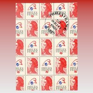 Philexfrance 89 Paris First Day 1987 Franking French Philatel Souvenir Bicentenary of the French Revolution