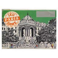 Novelty Scratch Off History Game Postcard Fountain of the Innocents in Paris