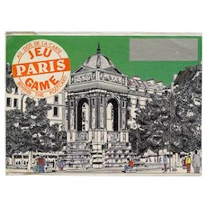 LAST CHANCE Novelty Scratch Off History Game Postcard Fountain of the Innocents in Paris