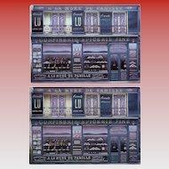 Oldest Chocolate Shop in Paris Storefront by French Painter André Renoux Unused Vintage Postcard c1980s-1990s